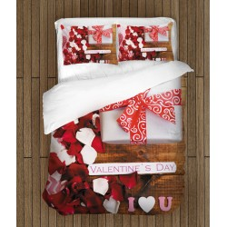Спален комплект за влюбени Подарък за свети Валентин - Valentine Day Gift