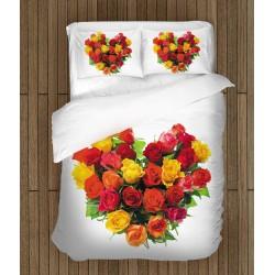 Комплект чаршафи за двама Покажи любовта си - Show your Love