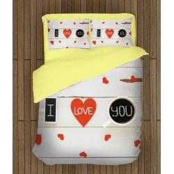 Романтичен спален комплект Признание в любов - Declaration of Love