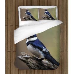 Комплект спално бельо Птичка - Bird