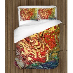 Интересно спално бельо Пъстри шарки - Motley Pattern
