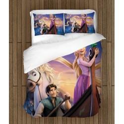 Детски спален комплект Рапунцел и Разбойникът - Rapunzel And Flynn