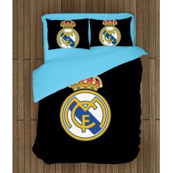 Футболно спално бельо със завивка 3D Реал Мадрид - Real Madrid