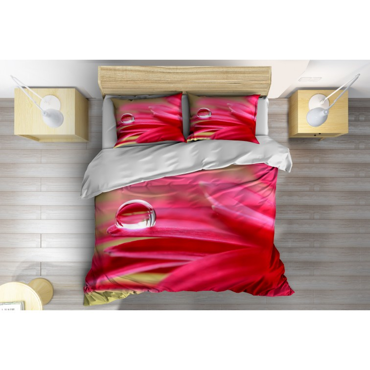 3D Спално бельо с олекотена завивка Роса - Dew