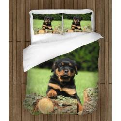 Спално бельо с бебе Ротвайлер - Rottweiler Baby