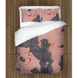 Интересно спално бельо със завивка Розова стена - Pink Wall