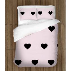 Романтично спално бельо със завивка Розово вълшебство - Pink Magic