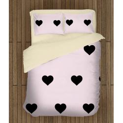 Романтичен комплект чаршафи Розово вълшебство - Pink Magic