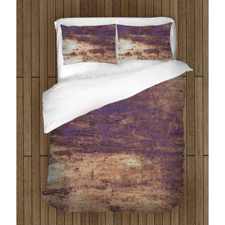 Абстрактен спален комплект със завивка Ръжда - Rust