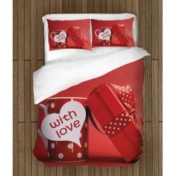 Ефектен спален комплект С любов - With Love
