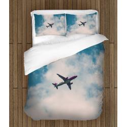 Ефектно спално бельо Самолет - Airplane