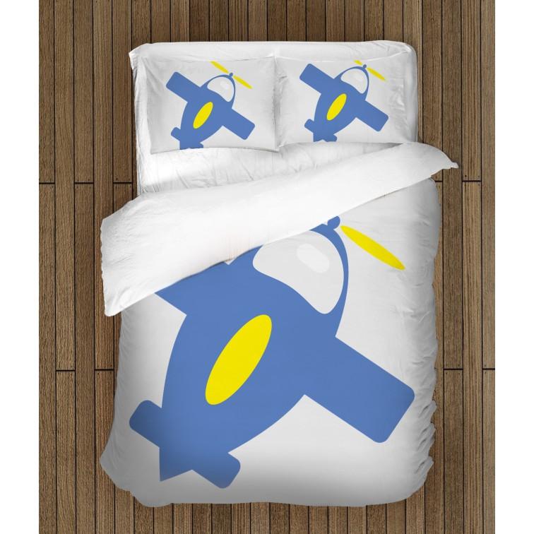 Детско спално бельо Самолетче - Airplane