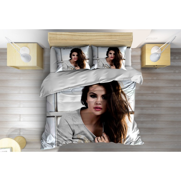 Спално бельо с олекотена завивка Селена Гомез - Selena Gomez
