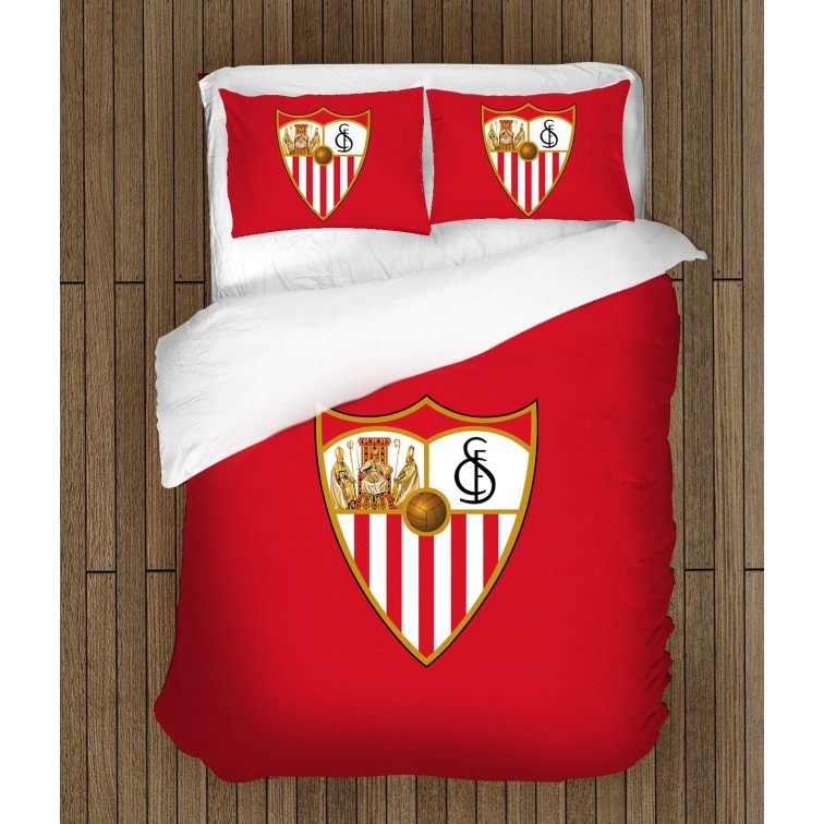 3D футболно спално бельо Севиля - Sevilla FC