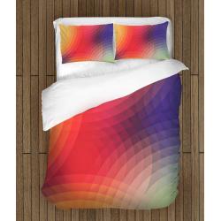 Дизайнерско спално бельо Цветни кръгове - Colorful Cyrcles