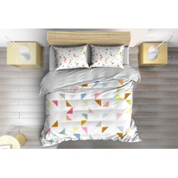 Арт спален комплект Шарки удома - Pattern at Home