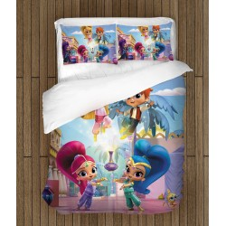 Детски спален комплект Искрица и Сияйница - Shimmer and Shine