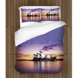 Романтични чаршафи със завивка Сидни - Sidney Landscape