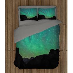Уникален олекотен комплект със завивка Сияние - Lights