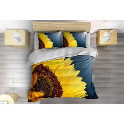 Есенно Спално бельо с олекотена завивка Слънчоглед - Sunflower