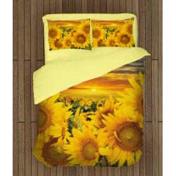 Слънчев комплект чаршафи Слънчогледи - Sunflowers