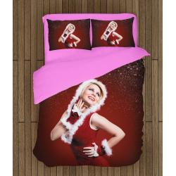 Спално бельо с олекотена завивка за Коледа със Снежанка - Snow White