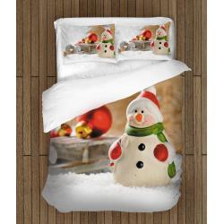 Коледен спален комплект Снежен човек - Snowman