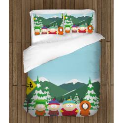 Детско спално бельо със завивка Саут Парк - South Park
