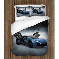 Спално бельо със завивка Спортна кола - Race Car