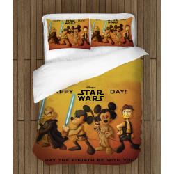 Спално бельо със завивка Стар Уорс Дисни - Star Wars Disney