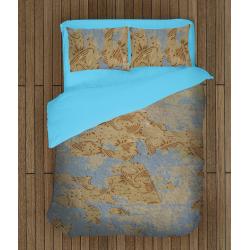Комплект спално бельо Стари тапети - Old Wall-paper