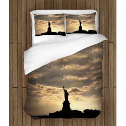 Спално бельо 3D със завивка Статуята на Свободата- The Statue Of Liberty