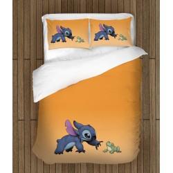 Детски спален комплект Стич и жабата - Stitch and Frog