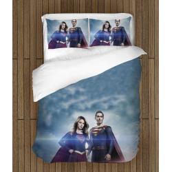 Комплект спално бельо със завивка Супер герои - Super Heroes