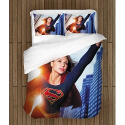 Модерно спално бельо Супергърл - Supergirl