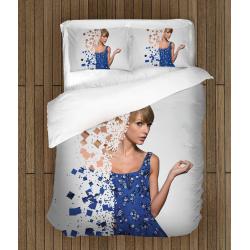 Спално бельо със завивка Тейлър Суифт - Taylor Swift Art