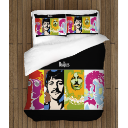 Уникално спално бельо Бийтълс - The Beatles