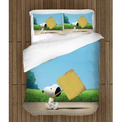 Детско спално бельо със завивка Фъстъчета - The Peanuts