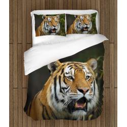 Комплект спално бельо 3д Тигър - Tiger