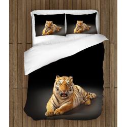 Спално бельо 3D със завивка Тигър - Tiger