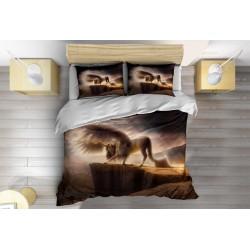 Интересно Спално бельо с олекотена завивка Трансформация - Transformation