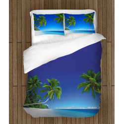 Спално бельо със завивка Тропически плаж - Tropical Beach