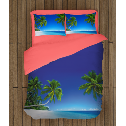 Комплект чаршафи Тропически плаж - Tropical Beach