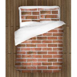 Интересен спален комплект Текстура тухли - Brick Texture