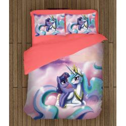 Детски чаршафи Еднорози - Fairy Unicorn