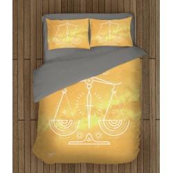 3D спално бельо Везни - Libra