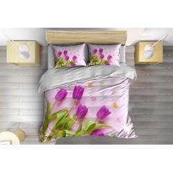 Спално бельо Виолетови лалета - Violet Tulips