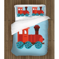 Детски спален комплект Влакче - Train