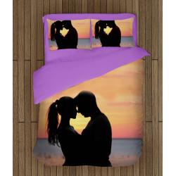 Романтично спално бельо - Влюбени по залез - Sunset In Love