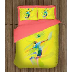 Спално бельо със завивка 3D Волейбол - Volleyball